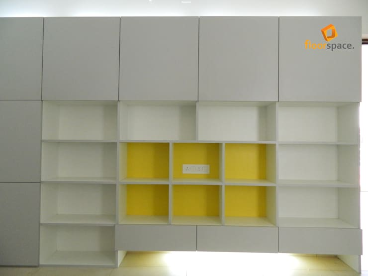 Project Tranquility - Library:  Study/office by Floorspace