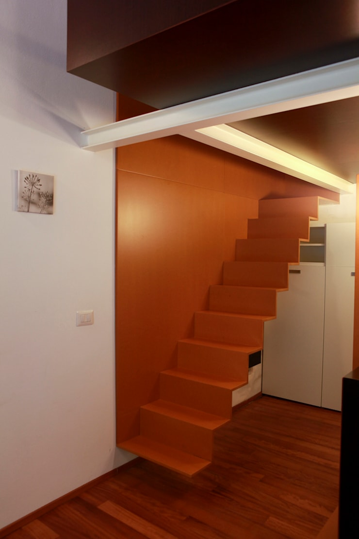 Sciostra al Ticinese: Case in stile  di auge architetti