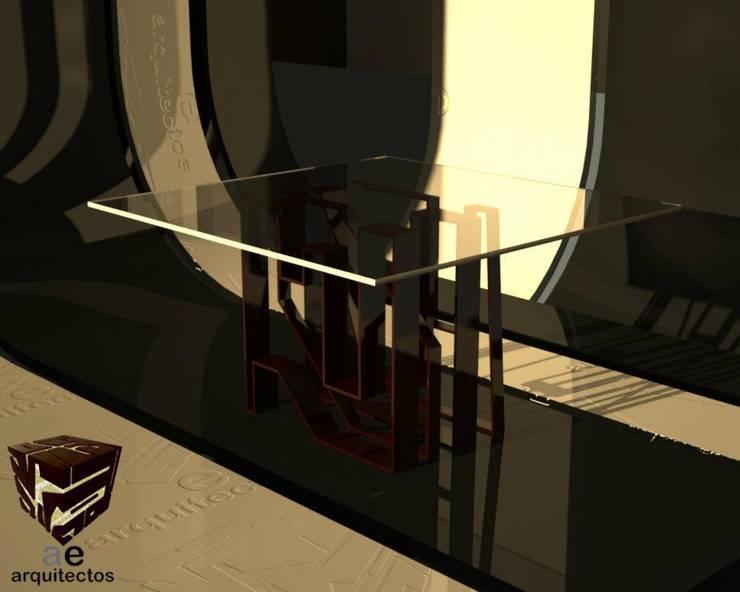 mobiliario:  de estilo  por AE ARQUITECTOS