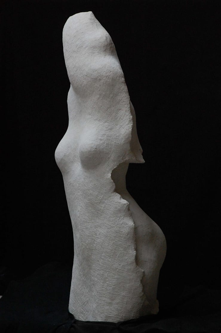 Sculptures in marble and limestone:  Artwork by Northern Ignorance