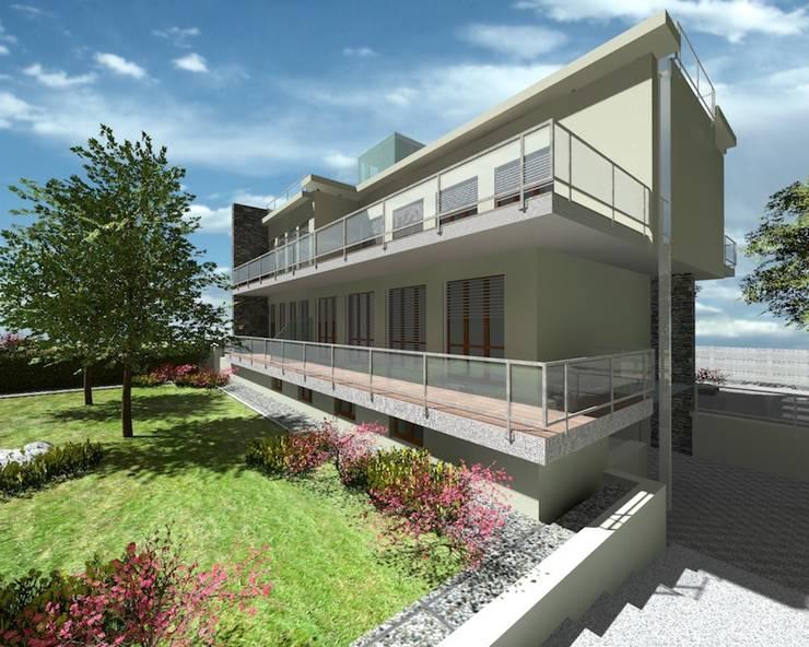 Villa Prandoni: Casas de estilo  de CADOT