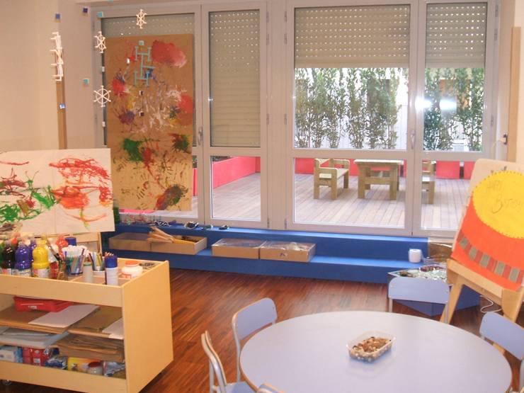 atelier delle esperienze di Studio L'AB Landcsape Architecture & Building Moderno