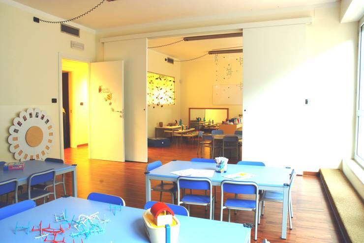 sala didattica di Studio L'AB Landcsape Architecture & Building Moderno