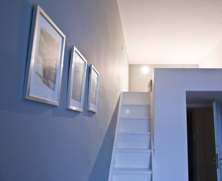 Lit en mezzanine: Chambre de style  par 3B Architecture