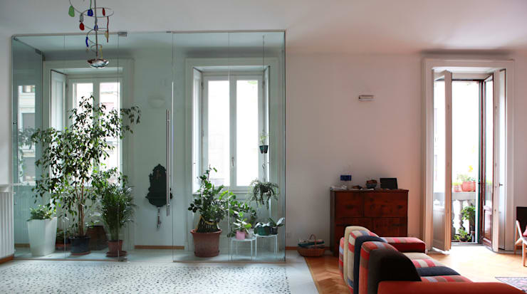 modern Living room by auge architetti