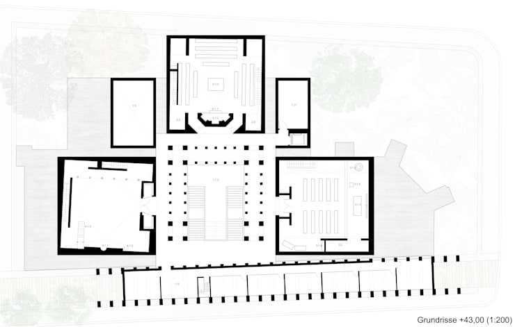 HOUSE OF PRAYER:  de estilo  de Linazasoro & Sánchez Architecture