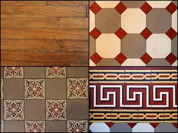 Matériaux: Murs & Sols de style de style Moderne par 3B Architecture