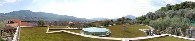 roofgarden: Giardino in stile  di Studio di architettura Linea18