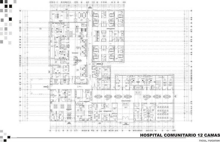 centros de salud:  de estilo  por AE ARQUITECTOS