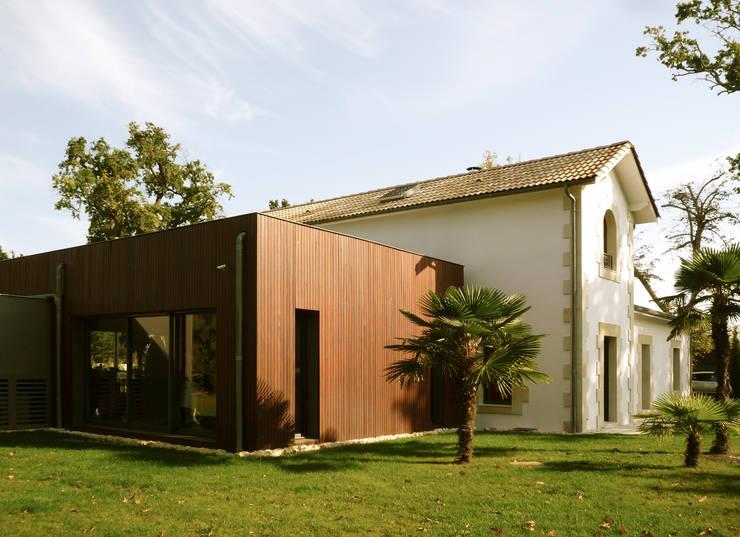 Villa P1:  de style  par BAM - Bureau d'Architecture Modeste