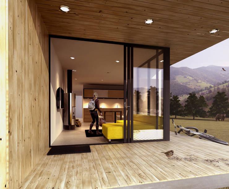 Casas de estilo moderno de FACTOR: RECURSO