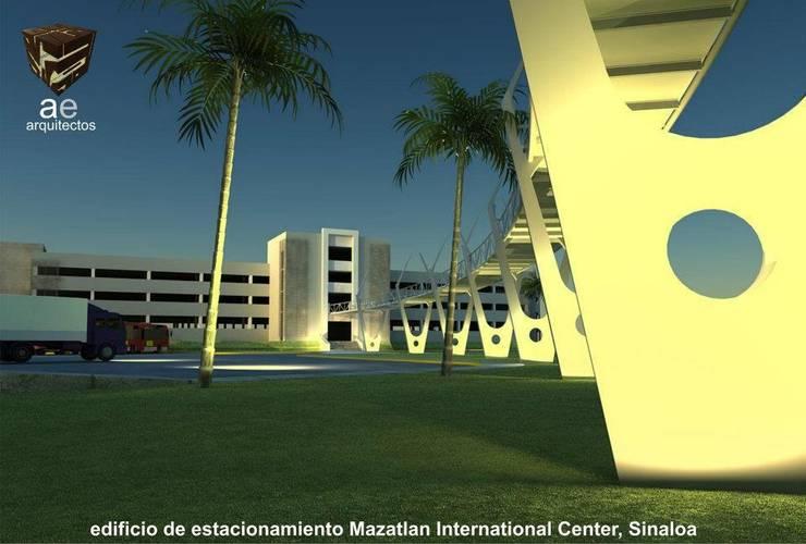 Mazatlan International Center:  de estilo  por AE ARQUITECTOS