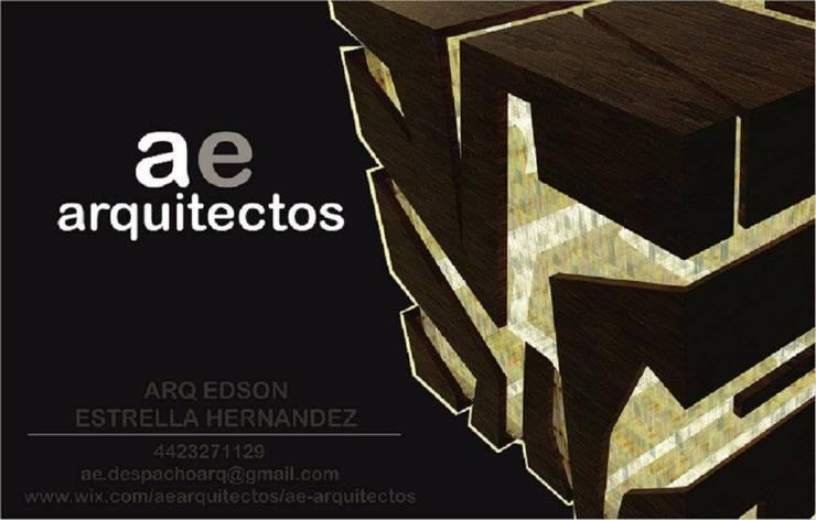 bocetos:  de estilo  por AE ARQUITECTOS