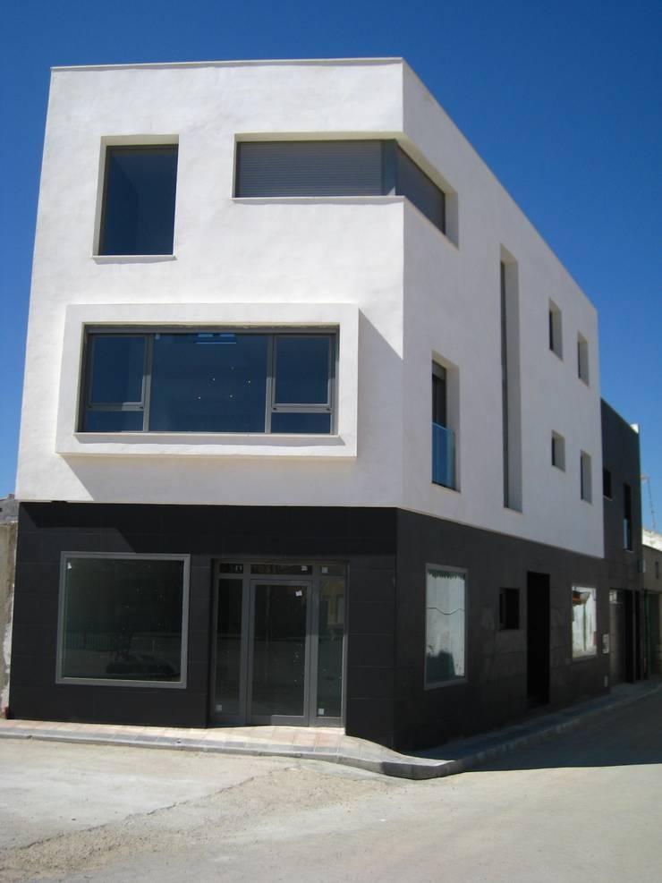 Vivienda 1033: Casas de estilo  de Estudio Dva Arquitectos S.l.p.