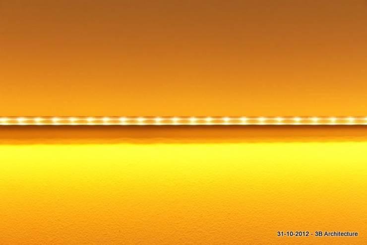 Eclairage intégré: Bureau de style  par 3B Architecture