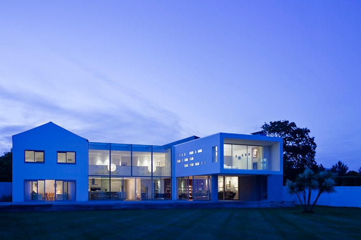 Le Foin Bas:  Houses by JAMIE FALLA ARCHITECTURE