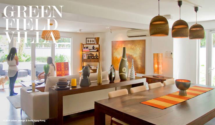 Greenfield Villa Hong Kong: minimalist  by Urban Design and Build, Minimalist