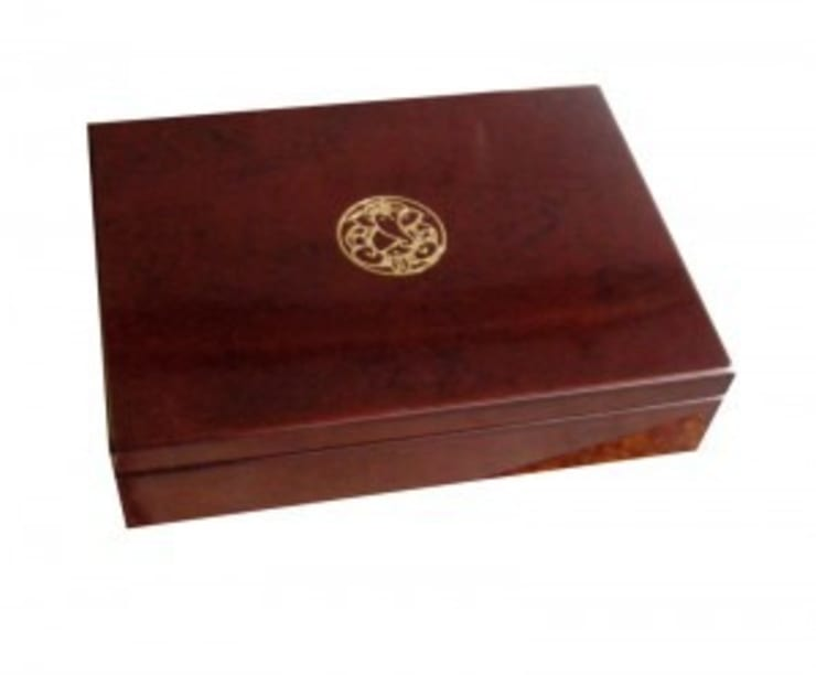 Wooden Sweet Box:  Household by Wooden Gift Company