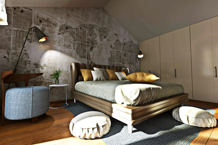 Quartos  por AAA Architettura e Design