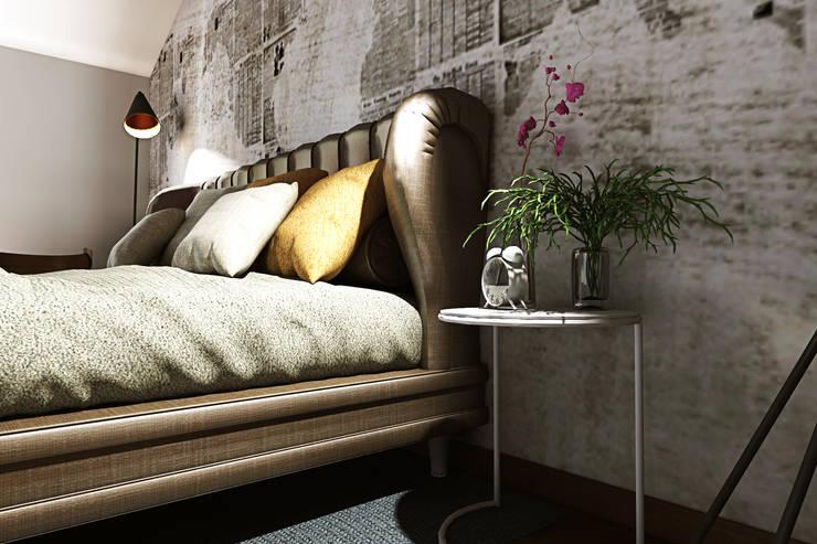 Dormitorios de estilo  de AAA Architettura e Design