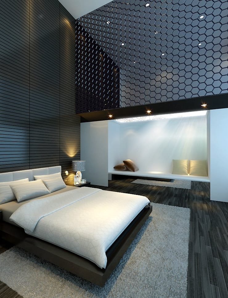 House at Sentosa Cove | Proposal:  Bedroom by Honeywerkz