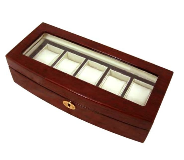 Watch Storage Box:  Household by Wooden Gift Company