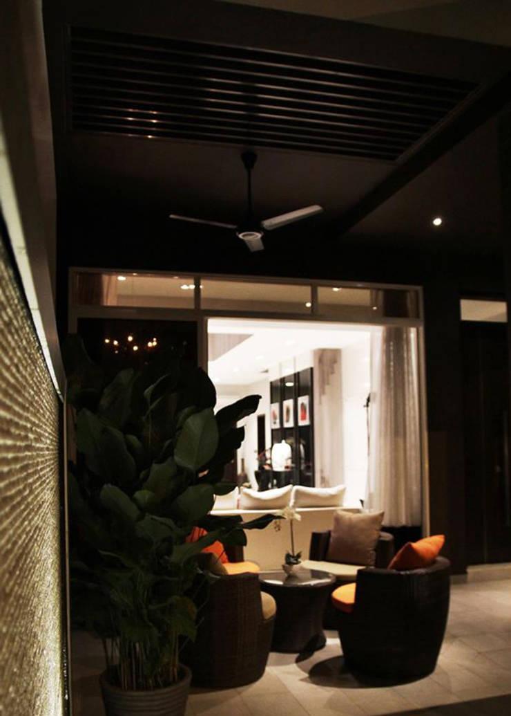 Porch Area   Luxus Hills:   by Honeywerkz