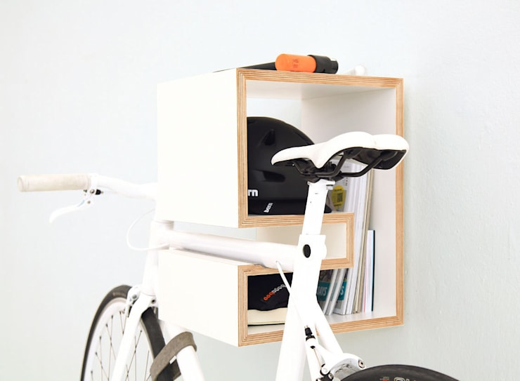 Salas de estilo  por MIKILI – Bicycle Furniture