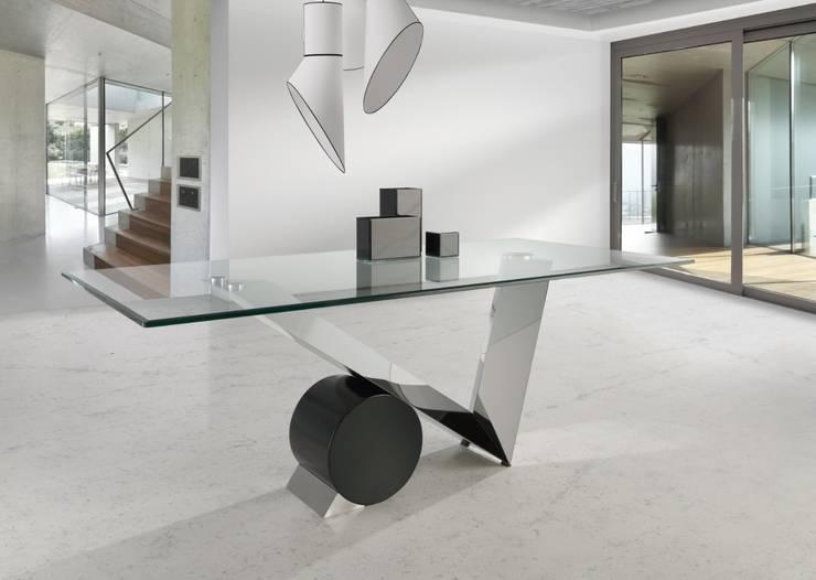 Mesa de Comedor Moderna Onega: Comedor de estilo  de Ámbar Muebles