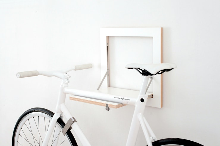 Salas/Recibidores de estilo  por MIKILI – Bicycle Furniture