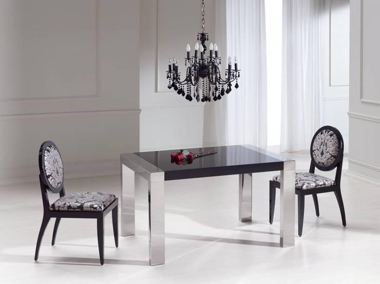 Sala da pranzo in stile in stile Moderno di Ámbar Muebles