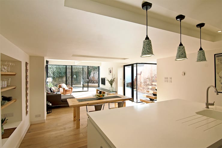 Headlands Cottage - Interior:  Dining room by Barc Architects