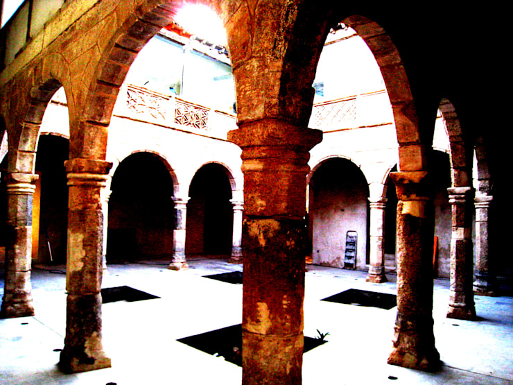 CASA DE LOS COLLADOS: Casas de estilo  de Estudio Dva Arquitectos S.l.p.