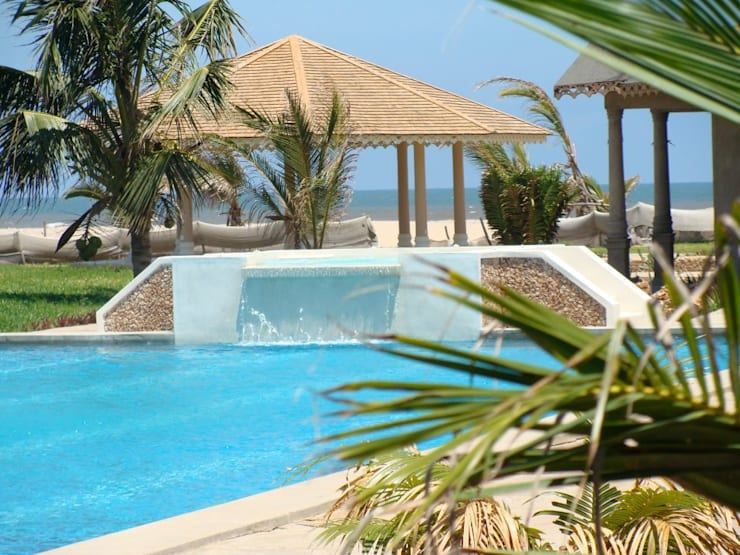 Ocean Beach Resort & Spa - kenya:  in stile  di ANDREA PONTOGLIO ARCHITECT