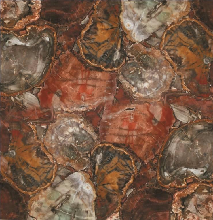 Gemstone Tiles / Slabs:  Dining room by 3D International Arts & Gems