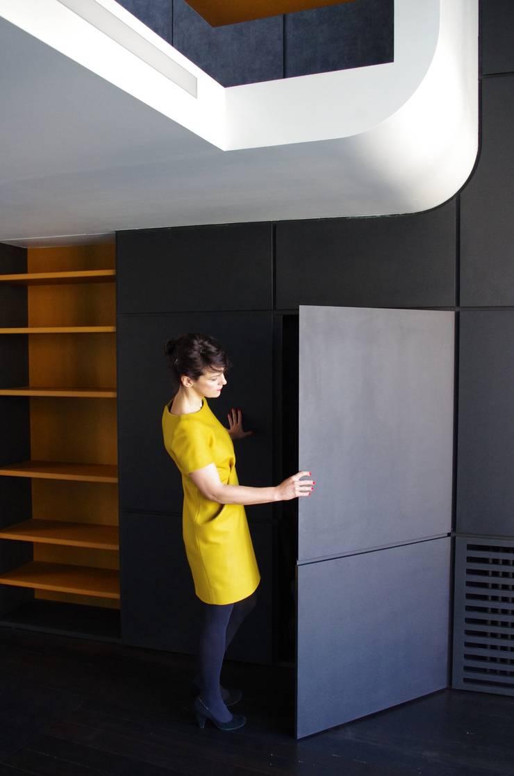 La bibliothèque:  de style  par Metek Architecture