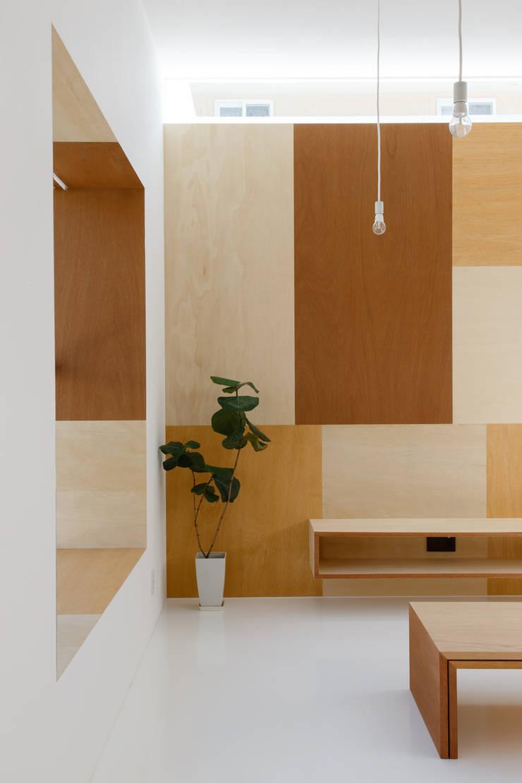 イドコロ: ma-style architectsが手掛けた壁です。