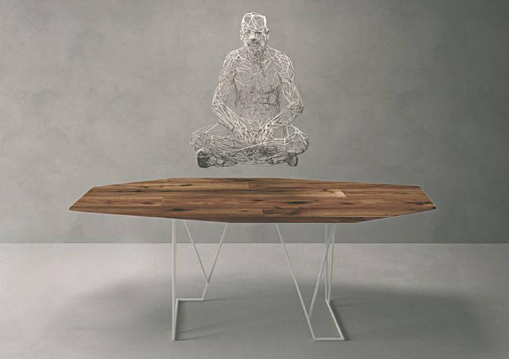 Kinoki Table: Setsu & Shinobu Itoが手掛けたダイニングルームです。,
