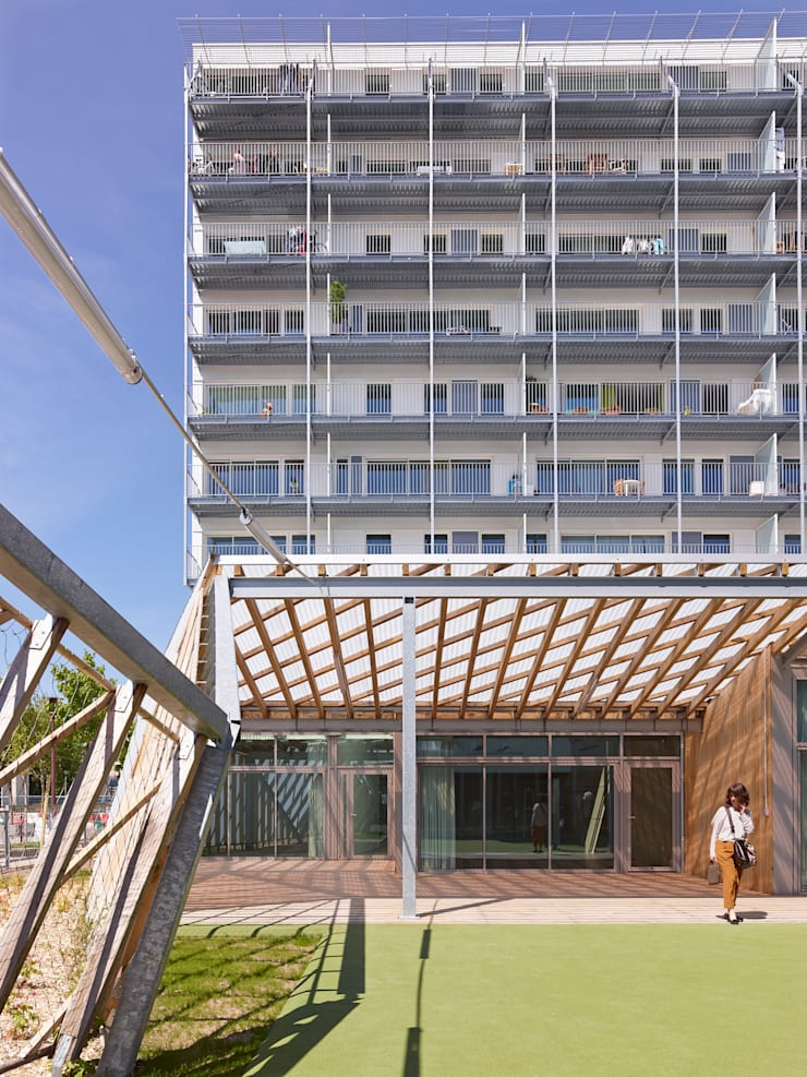 Ilot 47:  de style  par Berranger Vincent architectes
