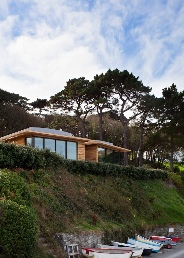 Le Portelet:  Houses by JAMIE FALLA ARCHITECTURE