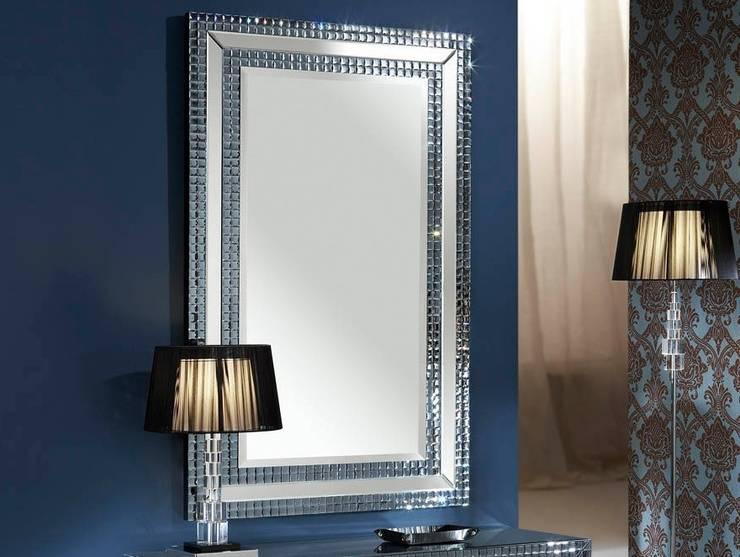 Espejo de Cristal Moderno Brooklyn: Vestidores de estilo  de Paco Escrivá Muebles