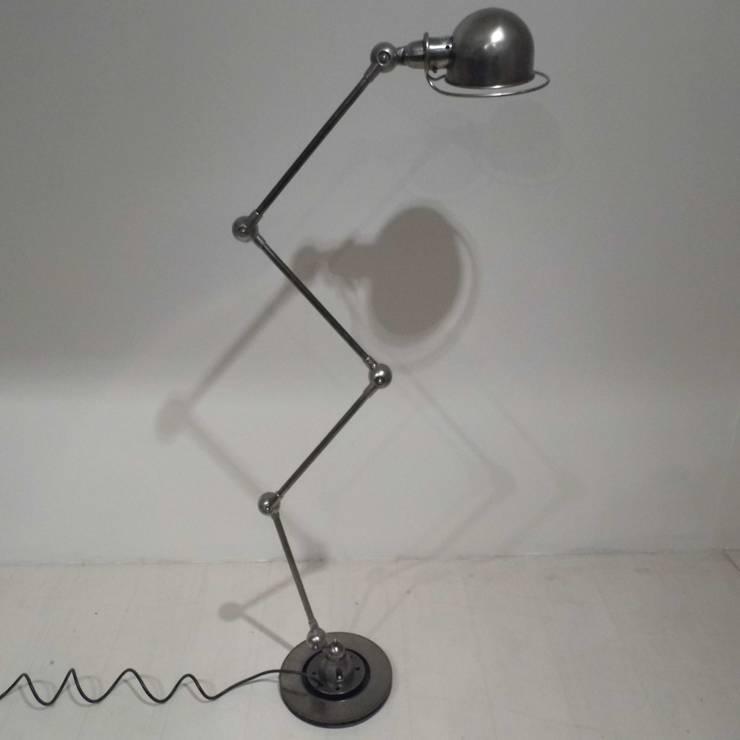 Vintage Jielde Floor Lamp:  Living room by Travers Antiques