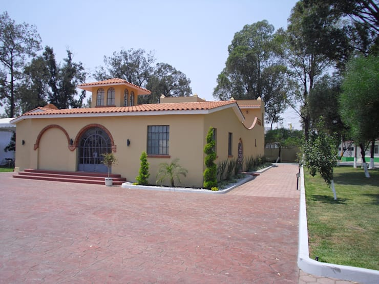 Casas rusticas dise adas por arquitectos mexicanos for Decoracion de casas tipo hacienda
