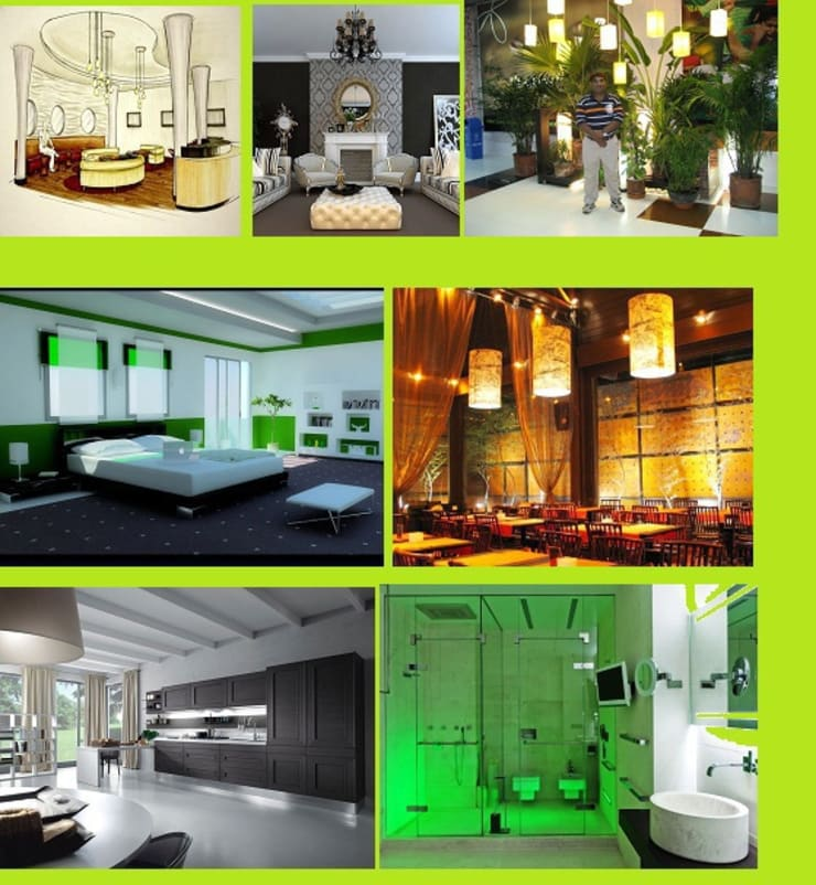 Interior Designing:  Walls & flooring by SRK Consultants & Engineers