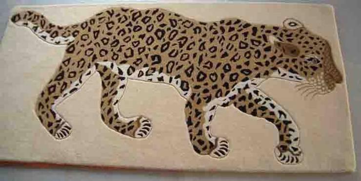 Tree leopard:  Nursery/kid's room by Sterling Rugs