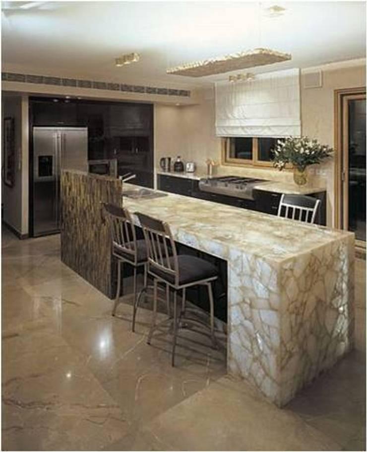 Kitchen counter top:   by 3D International Arts & Gems