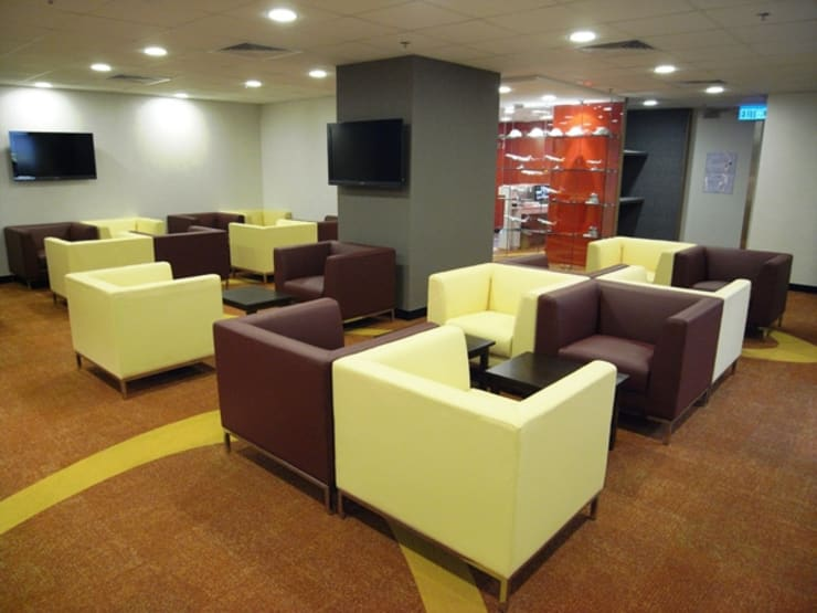 Hong Kong Airlines VIP Lounge:   by New Look Upholstery Company Limited