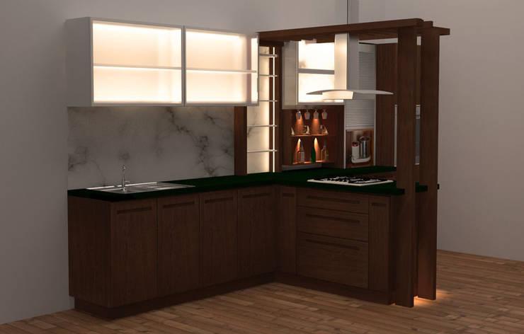 POISE: modern Kitchen by POISE