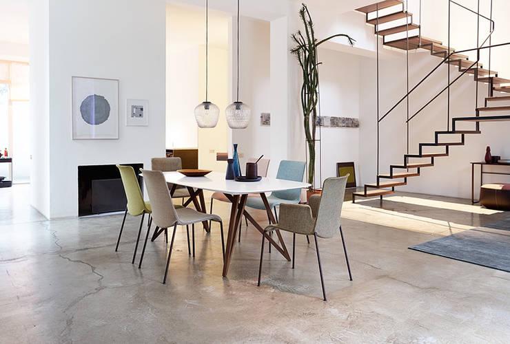 Sala da pranzo in stile in stile Moderno di Zimmermanns Kreatives Wohnen