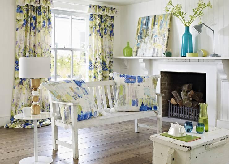 Salas de estar modernas por Prestigious Textiles